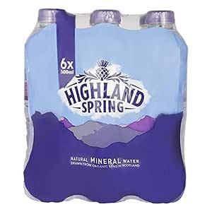 Highland Spring Natural Mineral Water Tray, 500 ml