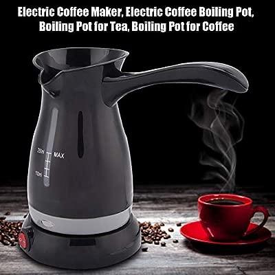 Pokerty Café eléctrico en ebullición, 250ml Cafetera eléctrica en ...