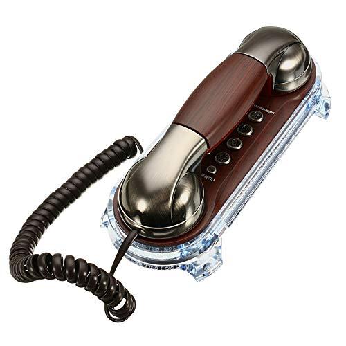 RISHIL WORLD Wall Mounted Telephone Corded Phone Landline Antique Retro Telephones for Home Office Hotel Single Item. from RISHIL WORLD