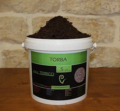 Turba rubia - 5 litros: Amazon.es: Jardín
