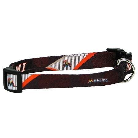 Hunter Miami Marlins Dog Collar - Large