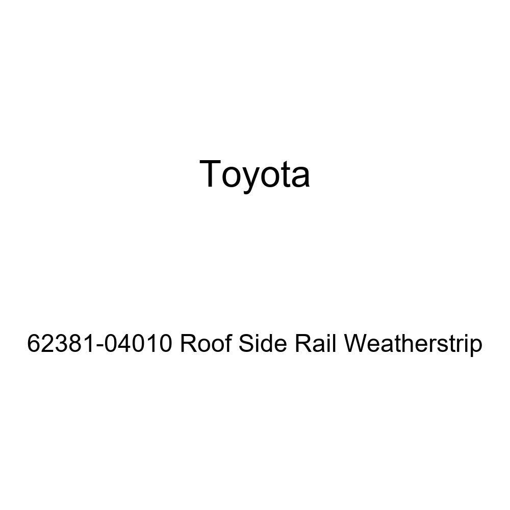 TOYOTA Genuine 62381-04010 Roof Side Rail Weatherstrip