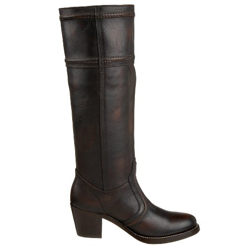 Frye Womens Jane 14L Stitch Boots Dark Brown (Marron-tr-sw.52) OwqKf