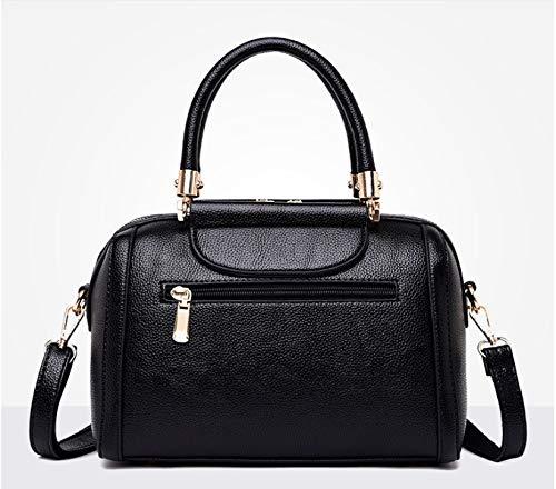 Cuero Invierno Bag Xmy E Ambiente Móvil Hombro Verde Messenger Mujer Moda Otoño Bolso De Simple wO8qfC