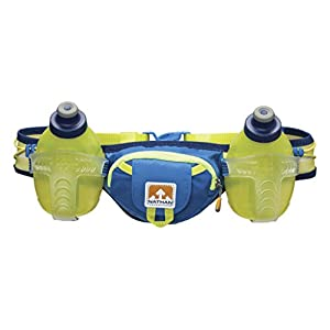 Nathan Trail Mix Hydration Belt, Nathan Blue, One Size