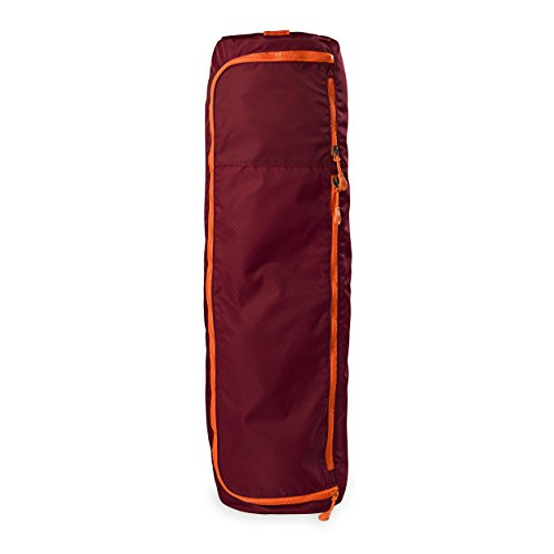 Gaiam Performance Yoga Mat Bag, Burgundy