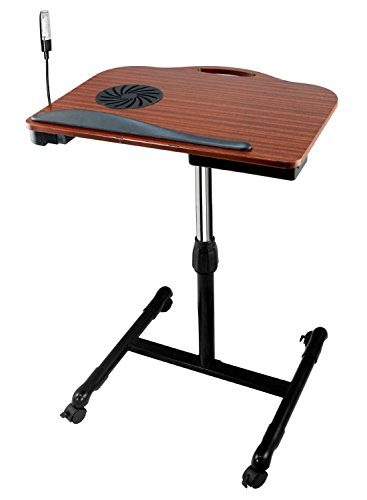Multifunctional Adjustable Laptop Table Stand With Cooling