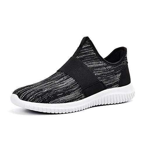 Sneakers Correre grau Lacci dd Zocavia Scarpe Da Schwarz Sportive Senza Uomo Per wvIHq8