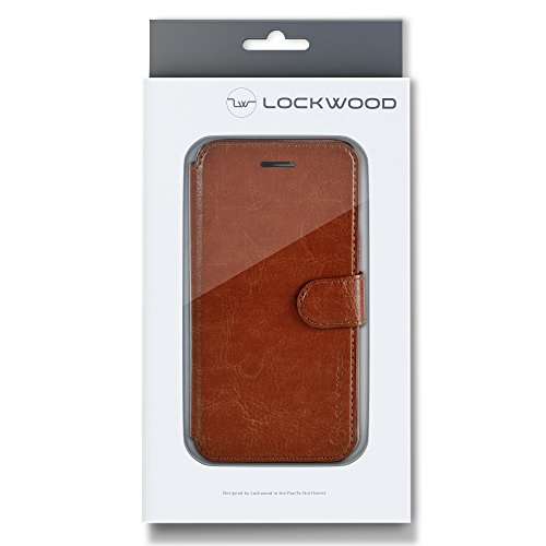 "Lockwood iPhone 7 Folio Wallet Case | Vintage Black | Travel Wallet With Card Holder | Ultra Slim & Lightweight Design | Classic Cases for Modern Devices | (4.7"" Screen) 