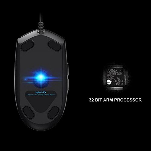 Logitech G102 IC PRODIGY 16.8M Color Optical Gaming Mouse - Bulk Package