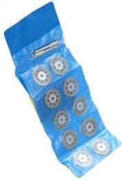 El corte del diamante 10pcs discos de ruedas Cuchillas Conjunto /& Broca para Dremel Herramientas rotativas Color