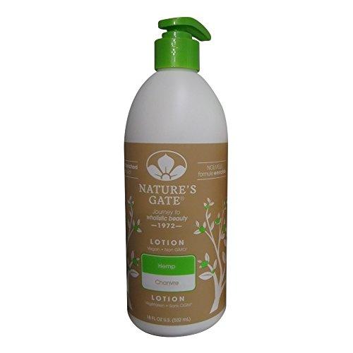Nature's Gate Hemp Moisturizing Body Lotion for Dry Skin - 18 - Moisturizing Body Magnolia Lotion