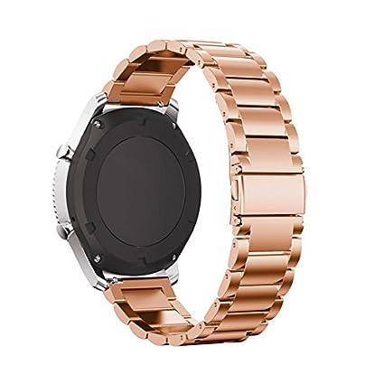 Recambio de correa de smartwatch de cuero de Loveblue, para ...