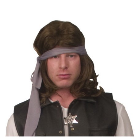 Warriors Costume Rogues (Warriors Rogues Costume Wig Adult One)