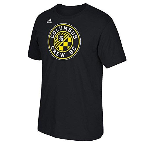 fan products of MLS Columbus Crew Men's Logo Set Tee, Medium, Black