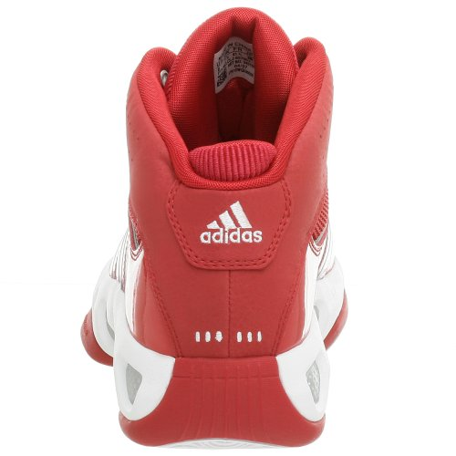 adidas Men's Pro Model Team Color Basketball Shoe,Red/Red,9.5 M by adidas (Image #2)