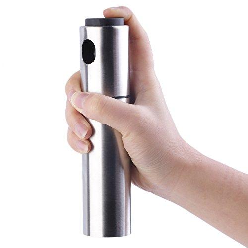 Stainless Olive Mister Oil Spray Pump Fine Bottle Oil Sprayer Pot Cooking Roast Bake Oil Bottle Tools Oil Dispenser