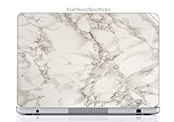 Laptop VINYL DECAL Sticker Skin Print Marble Background Pattern fits Hp Elitebook 8460p