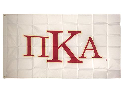 Phi Kappa Alpha - Pi Kappa Alpha Letter Fraternity Flag Greek Letter Use as a Banner Large 3 x 5 Feet Sign Decor Pike