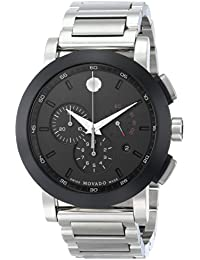 Men's 0606792 Museum Sport Stainless Steel Watch with Black Dial