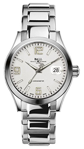 Ball Engineer II Pioneer Automatic Chronometer Stainless Steel Mens Watch Date NM2026C-S4CAJ-SL