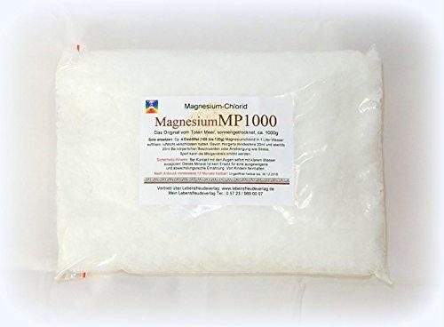 Magnesium-Chlorid 1000g - Magnesium - Das Original vom Toten Meer