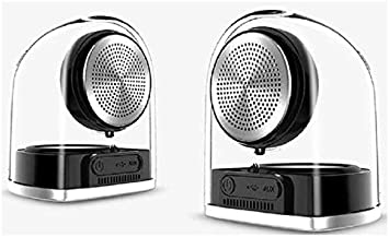 Sylvania Light-Up Bluetooth Speakers True Wireless with Silicone Case (TWS  Magnetic)