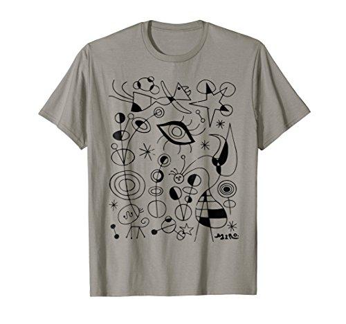 Joan Miro Peces De Colores (Colorful Fishes) Shirt, Artwork - Joan Miro Ceramics
