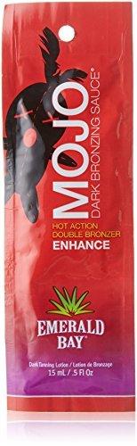Emerald Bay Mojo Hot Action Double Bronzer Enhance Sachet 15ml by Emerald (Emerald Bay Mojo)