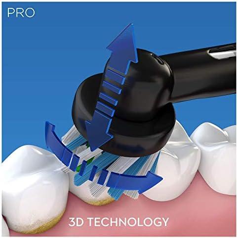 Oral-B Pro 2 2500N Edition Noire, Brosse Dents Electrique Rechargeable Alimente (Modele Assorti)