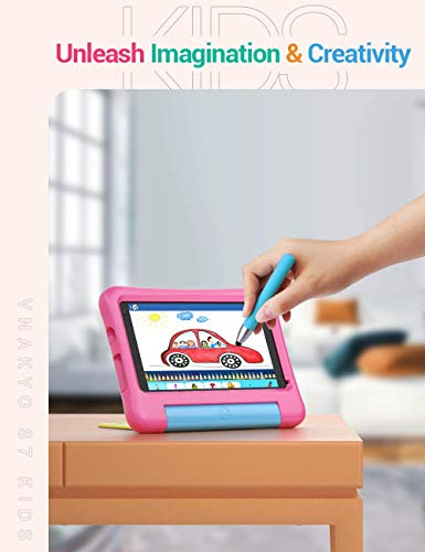 VANKYO MatrixPad S7 Kids Tablet 7 inch, Android 9.0 Pie, 32GB ROM, 2GB RAM, COPPA Certified KIDOZ& Google Play Pre-Installed with Kid-Proof Case,…