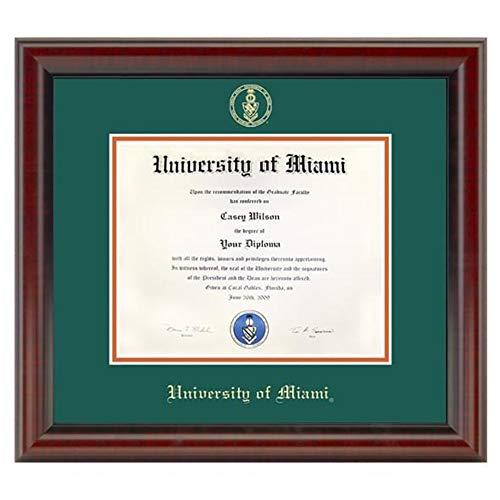 - M. LA HART University of Miami Diploma Frame, The Fidelitas