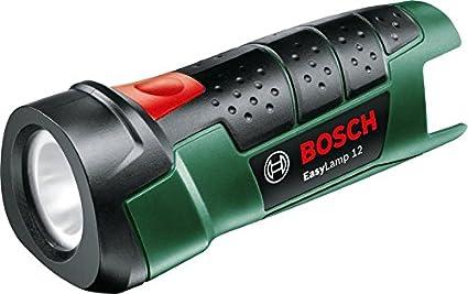 Bosch Akku Taschenlampe EasyLamp 12 (ohne Akku, Karton, 12 Volt System) 06039A1008