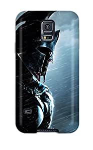 Galaxy S5 Case Cover - Slim Fit Tpu Protector Shock Absorbent Case (300 Rise Of An Empire Movie)
