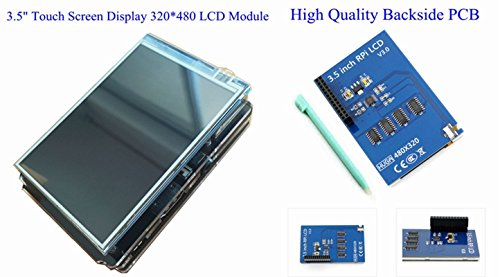 7 in 1 Kit Raspberry Pi 3 Module+16G Card+3.5'' Touch Screen+US Plug Power+Case by Generic (Image #2)