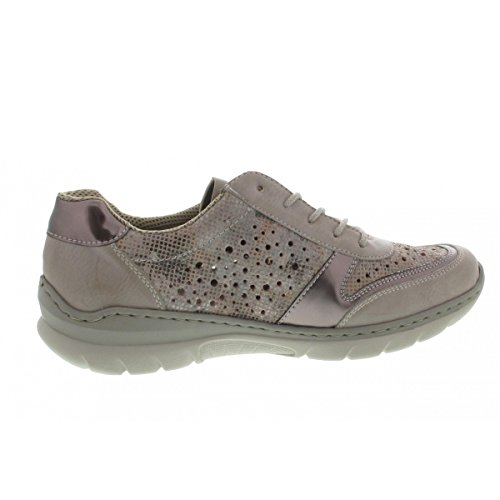 Silber Ice 80 pour femme lacets ville à Chaussures L3229 de Rieker vqFBSgTq