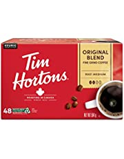Tim Hortons Original Blend Coffee, Single Serve K-Cup Pods, Medium Roast, 48ct Pack