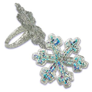 Snowflake Frozen Glitter Sparkle Cupcake product image