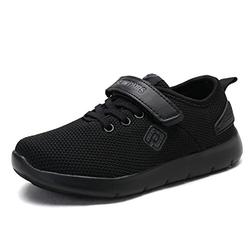 DREAM PAIRS Toddler 170945_K All Black Fashion Running Shoes Sneakers Size 9 M US Toddler