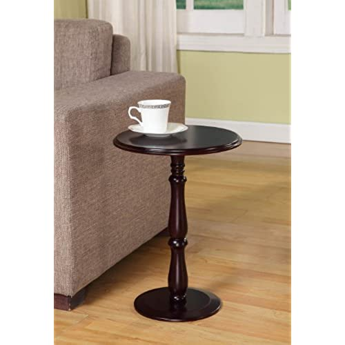 Exceptionnel Kings Brand Furniture   Dark Cherry Finish Wood Plant Stand Accent Side End  Table