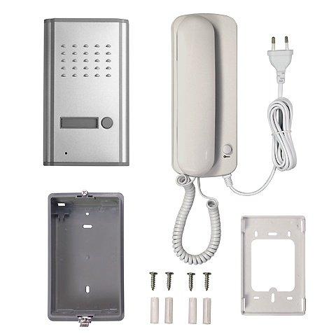 Pentatech Audiosprechanlage Zubehör günstige Türsprechanlage mit Haustelefon