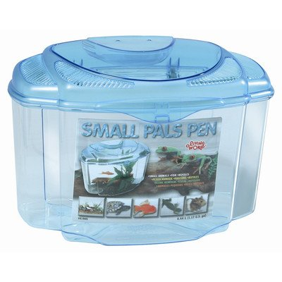 Living World Pals Pen Aquarium Kit [Set of 3] Size: 8.2'' H x 9'' W x 8.5'' D by Living World