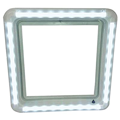 Heng's HG-LR-W-WW-AFT LED Vent Trim Kit, White Lens Ring Diffuser - Warm White Light: Automotive