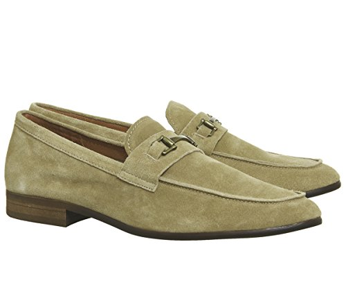 Missus Genius The Suede Ask Loafers Snaffle Beige 8OURWFqw