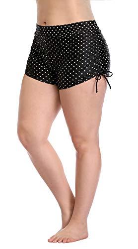 im Shorts Boy Leg Bottom Boardshorts Drawstring Polka Dot 0X ()