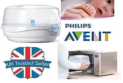 Philips Avent Bebé Biberones Microondas Esterilizador de ...