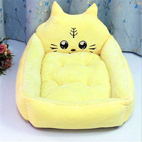 (Pet Mats Dog Bed Cat Bed Soft for Dogs Pad Cushion Dog House Furniture Puppy Blanket Pet Bed Removable Pillow Small Medium Dogs)