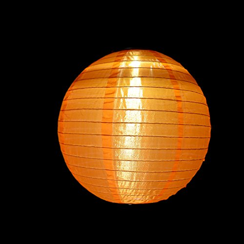 9 Packs Multi-Color 12'' Solar Powered Lanterns Hanging Solar Lamps for Garden by uxcell (Image #5)