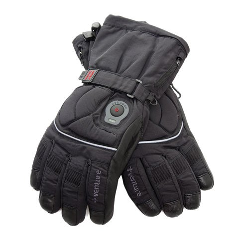 Venture Heated Clothing BX-805W MED Epic Black Medium Heated Women's Gloves by Venture Heated Clothing