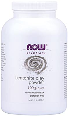 NOW Bentonite Clay Powder,1-Pound by Now Foods